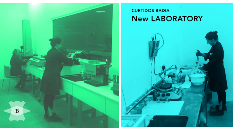 Curtidos Badia new laboratory