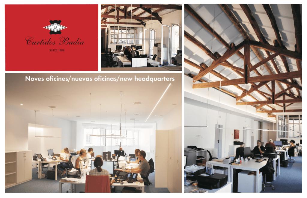 Nuevas oficinas de Curtidos Badia